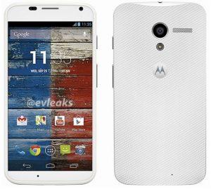Superficie de detalles del sistema Motorola X8;  50 por ciento mejor rendimiento de la batería