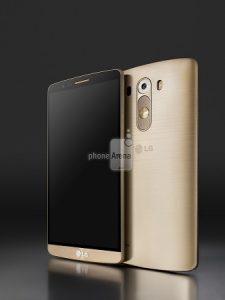 Renders de prensa de LG G3 filtrados;  Revelar acabado de metal cepillado