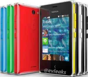 Renders de prensa de Nokia Asha 502 filtrados