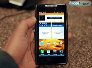 Revisión: Smartphone Android Motorola Razr