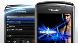 Revisión: aplicación Gym Technik para Blackberry