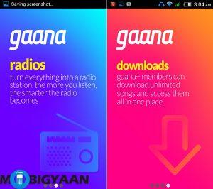 Revisión de la aplicación Gaana 3.0: simple, rápido y fácil