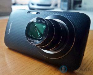 Revisión del Samsung Galaxy K Zoom: teléfono con cámara decodificado