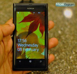 Revisión del teléfono inteligente Nokia Lumia 800 con Windows