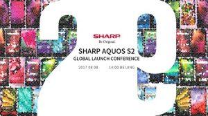 SHARP AQUOS S2 sin bisel se lanzará oficialmente el 8 de agosto