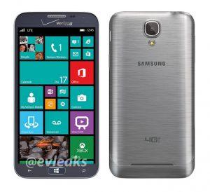 Samsung Ativ SE Windows Phone para Verizon filtra imágenes de prensa