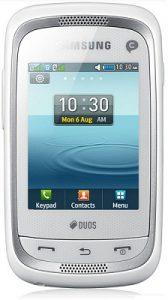 Samsung Champ Neo Duos, móvil con pantalla táctil de 2,4 pulgadas lanzado