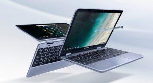 Samsung Chromebook Plus (V2) se vuelve oficial, agrega cámara trasera, nuevo chip Intel, lápiz óptico mejorado y más
