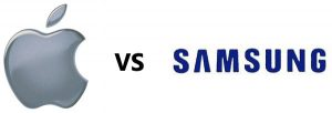 Samsung contraataca a Apple, presenta un caso contra la copia de 3 patentes