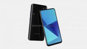 Renders del próximo teléfono Samsung Galaxy serie A con superficie de cámara emergente en línea