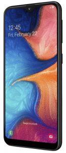 Samsung Galaxy A20e con pantalla HD + Infinity-V de 5.7 pulgadas y batería de 3000 mAh lanzada