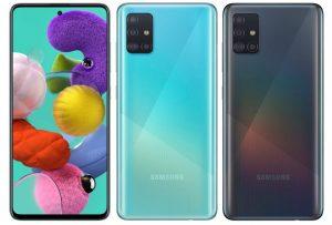 Samsung Galaxy A51 con Exynos 9611 SoC y 6 GB de RAM lanzado en India por ₹ 23,999