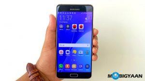 La última actualización lleva la aplicación Samsung Pay al Galaxy A7 (2016) en India