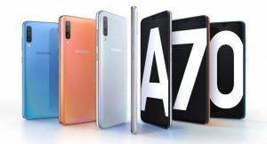 Samsung Galaxy A70 se lanzará pronto en India, ya que el teléfono aparece en el sitio web oficial