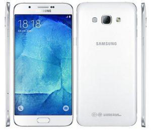 Samsung Galaxy A8 con escáner de huellas dactilares lanzado en India por Rs.  32500