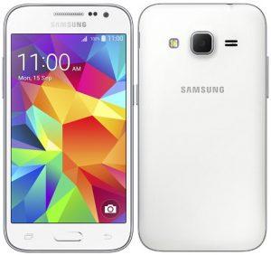 Samsung Galaxy Core Prime listado en Samsung eStore para Rs.  9700