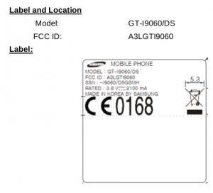 Samsung Galaxy Grand Lite con soporte dual SIM detectado en FCC
