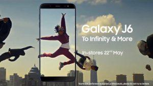 Samsung Galaxy J6 con Infinity Display se lanzará en India el 21 de mayo