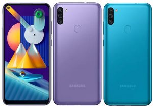 Samsung Galaxy M11 con cámaras traseras triples y batería de 5000 mAh se vuelve oficial