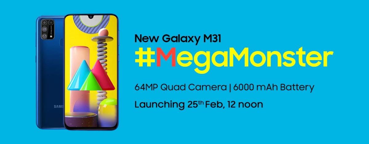 Galaxy-M31-Fecha de lanzamiento-India