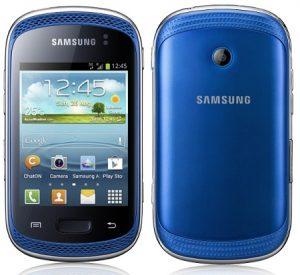 Samsung Galaxy Music ahora oficial, teléfono inteligente ICS Android 4.0 centrado en la música de 3 pulgadas