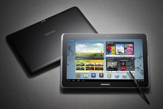 El Galaxy Note 10.1 de Samsung se lanzará mañana en India