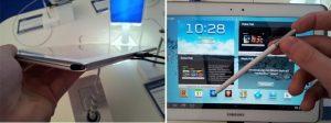 Samsung Galaxy Note 10.1 obtiene un nuevo diseño con una ranura S-Pen y un procesador de cuatro núcleos