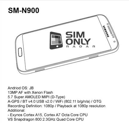 SM-n900-especificaciones