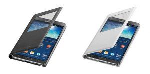 Samsung Galaxy Note 3 obtiene una nueva funda abatible S-View con capacidad de carga inalámbrica