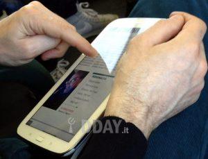 Samsung Galaxy Note 8.0 atrapado en la naturaleza