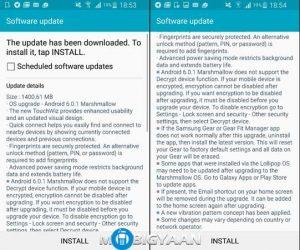Samsung Galaxy Note Edge comienza a recibir la actualización de Android Marshmallow en India