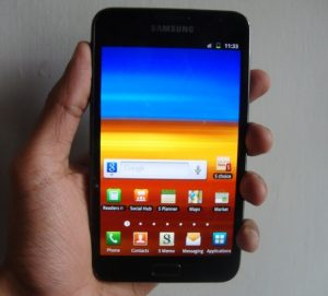 Samsung Galaxy Note - Revisión: lo llamamos Smartphone del año