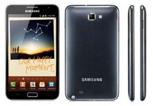 Samsung Galaxy Note comenzará a enviarse a Europa a partir de noviembre