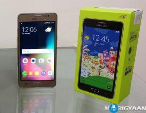 Samsung Galaxy On5 Pro - Prácticas e imágenes