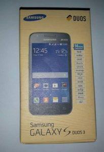 Samsung Galaxy S Duos 3 disponible en India por Rs.  7999