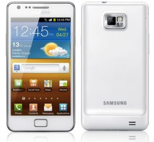 Samsung Galaxy S II en blanco, próximamente