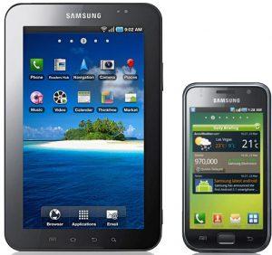 Samsung Galaxy S y Galaxy Tab reciben la actualización Gingerbread