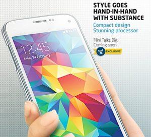 Samsung Galaxy S5 Mini puede estar disponible en India exclusivamente en Flipkart