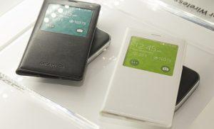 Carcasas, baterías y cargadores inalámbricos Samsung Galaxy S5 S View presentados en el MWC