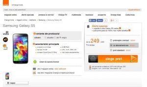 Samsung Galaxy S5 en preventa en Rumanía por 699 euros