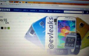 Samsung Galaxy S5 mini se filtra en una imagen
