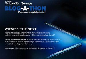 Samsung Galaxy S6 y Galaxy S6 Edge se lanzarán en India el 23 de marzo