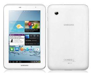 Samsung Galaxy Tab 2 (Wi-Fi) lanzado en India