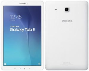 Samsung Galaxy Tab E con pantalla HD de 9,6 pulgadas anunciada