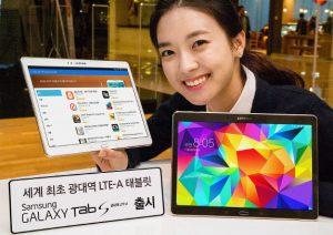 Samsung Galaxy Tab S 10.5 Broadband LTE-A lanzado en Corea