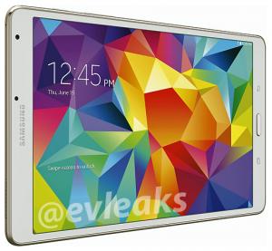 Samsung Galaxy Tab S 8.4 fugas en renders de prensa