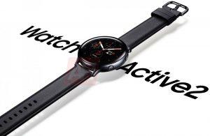 Samsung Galaxy Watch Active 2 renderiza fugas en línea mostrando su diseño