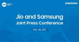 Samsung India y Reliance Jio organizarán una conferencia de prensa conjunta en el MWC 2017