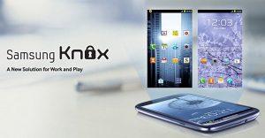 Samsung Knox - Lanzamiento de seguridad empresarial para Android