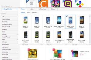 Samsung S4 Mini aparece en la línea de dispositivos en el sitio web oficial